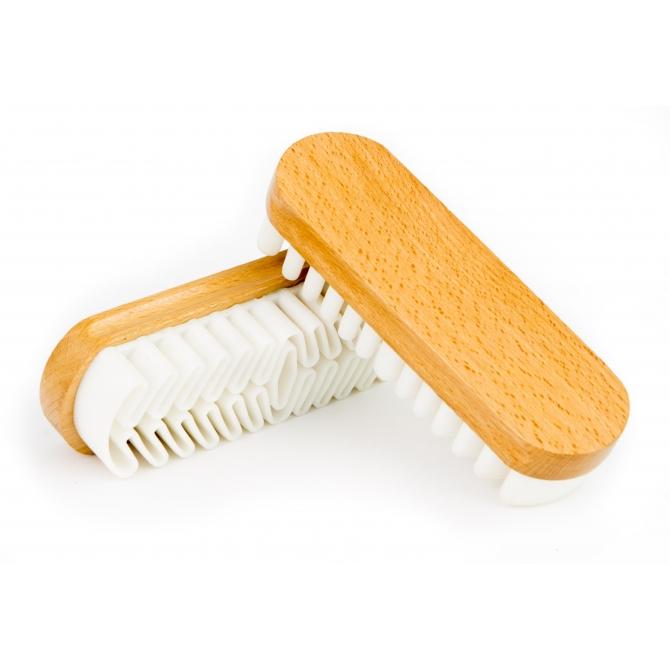 Crepe suede brush
