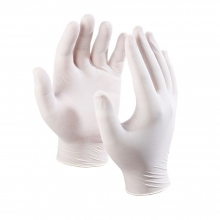 Latex gloves 10-pack