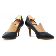 Skotre av sedertre for høyhælte sko