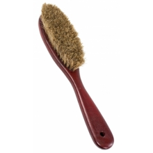 Clothes brush in mahogny color