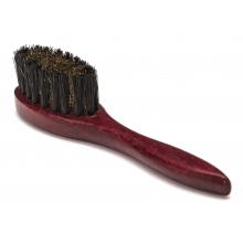 Suede brush with handle
