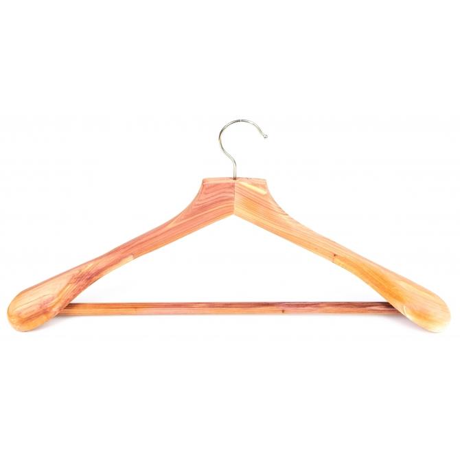 Hanger in cedar