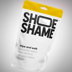 Shoe Shame Wipe and Walk...