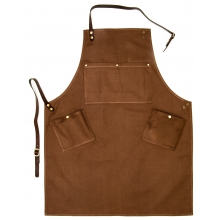 Shoe care apron